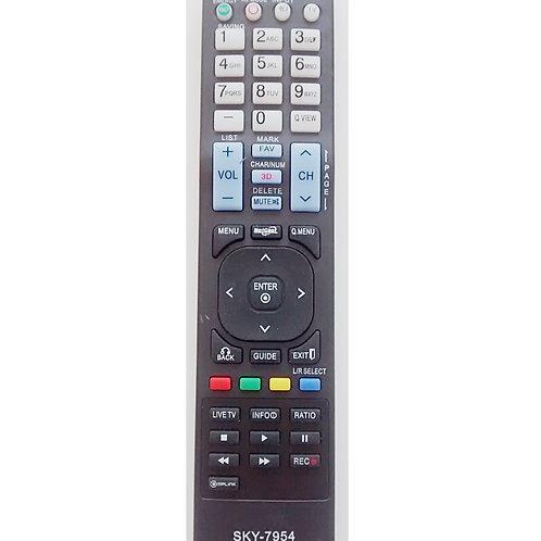 Controle remoto TV LG LCD  LED  PLASMA SKY7954 MOD TV 42LX6500  47LX6500