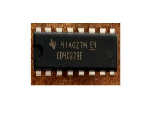 Circuito integrado CD4027 16 pinos original