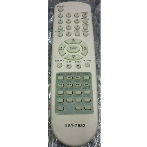 Controle remoto DVD TOSCHIBA ModDVD 3130  SD7050  SD7070