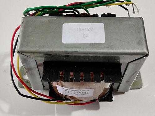 Transformador Forca  1818v 3 amp 110  220V AC Marca MS