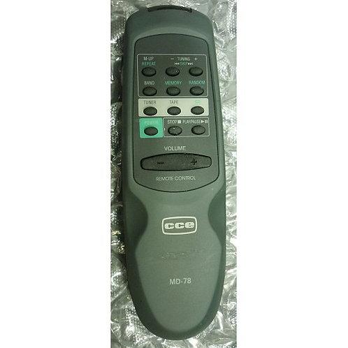 controle remoto  SOM CCE MODMD78