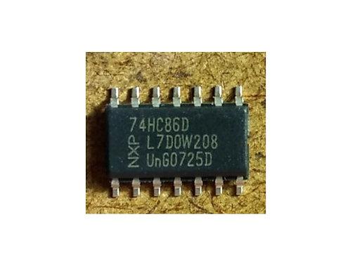 Circuito integrado 74HC86 SMD 14 pinos original