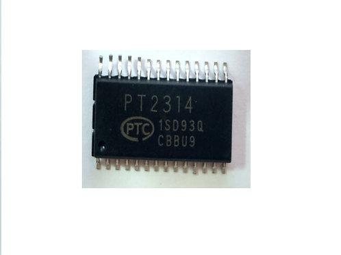 Circuito Integrado  PT2314  TDA7314 SMD   14 pinos