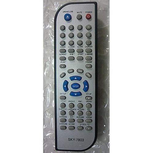 Controle remoto DVD NKS MOD 4500 e outros modelos