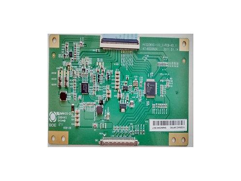 Placa  TCon  Tcon  Tecon  TV HBuster HBTV32L05HD  codigo HV320WXC  E88441