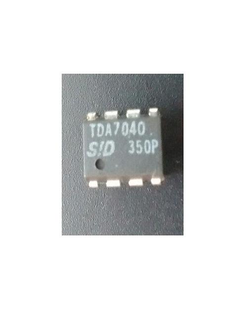 Circuito integrado TDA7040 original 08 pinos
