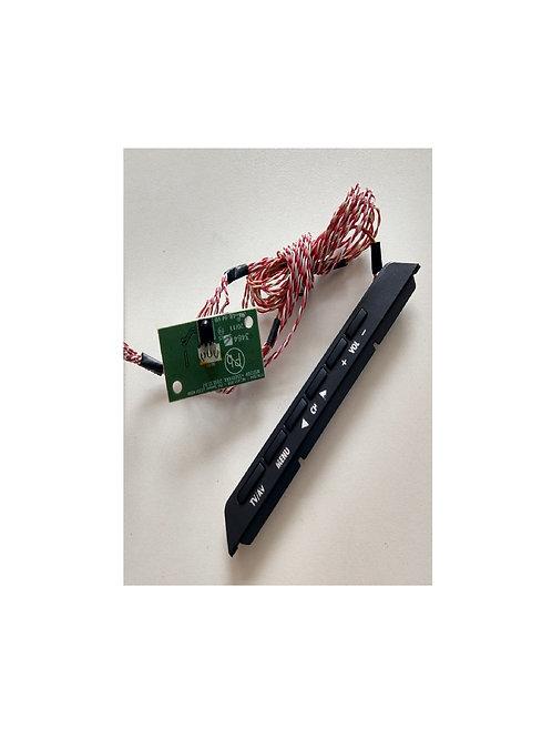 placa do sensor e teclado TV TOCHIBA LE3250 A codigo msd209
