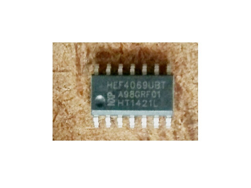 Circuito integrado HEF4069UBE  CD4069 SMD original