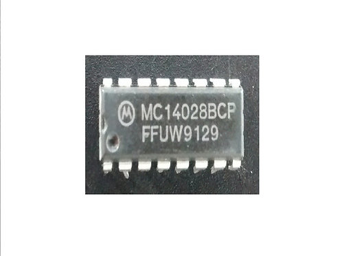 Circuito integrado MC14028 BCP 16 pinos original