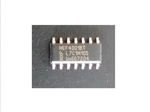 Circuito integrado HEF4001BT SMD 14 pinos original