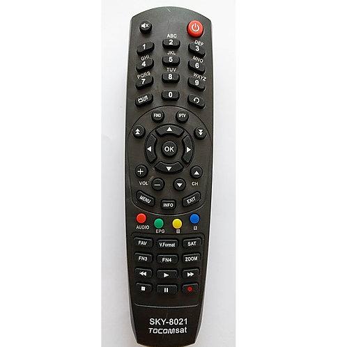 Controle Remoto Receptor Digital Tocomsat MarSKY 8021