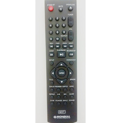 Controle remoto DVD Mondial Home Theater HT09  HT04