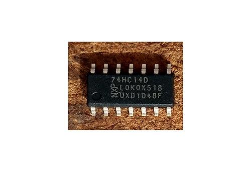 Circuito integrado MM74HC14M SMD 14 pinos original