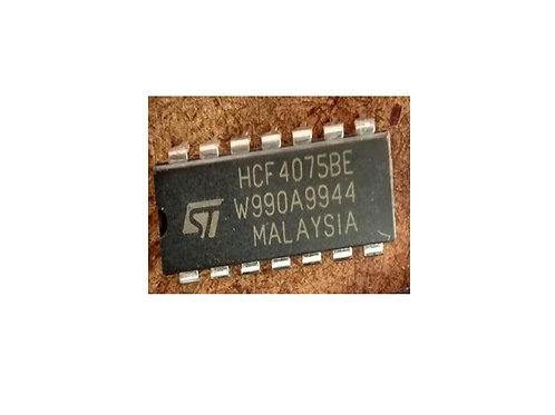 Circuito Integrado HCF4075 BE 14 Pinos Original