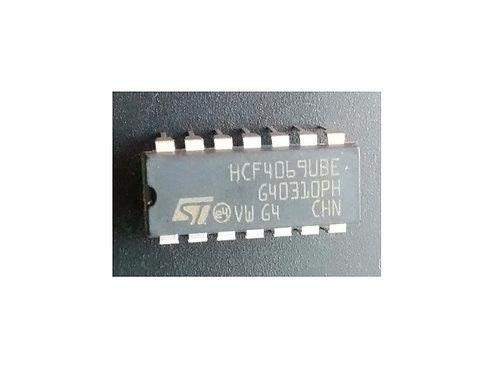 Circuito integrado HCF4069UBE original