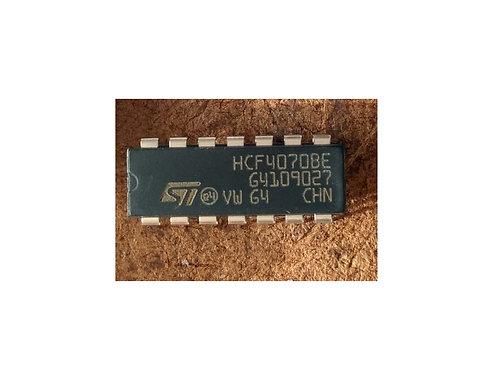 Circuito integrado HCF4070 BE  CD4070 14 pinos