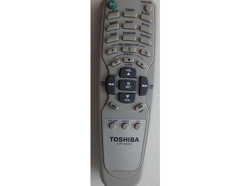 Controle Remoto som Toshiba  Modelos Cr4200  Mc855mus  CR4220 Original