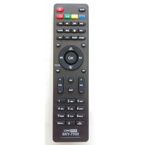 Controle remoto Receptor digital CINEBOX HD  GIGA BOX S1000 GL7500  S928