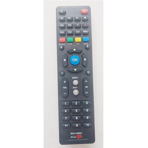 Controle remoto Receptor Digital ProBox  SKY8001