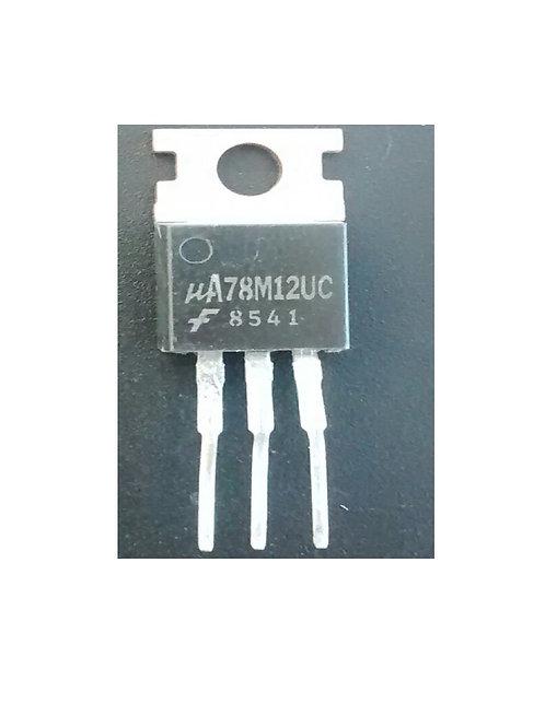 Circuito integrado Regulador UA78M12UC 78M12 Forma TIP  3 Pinos original