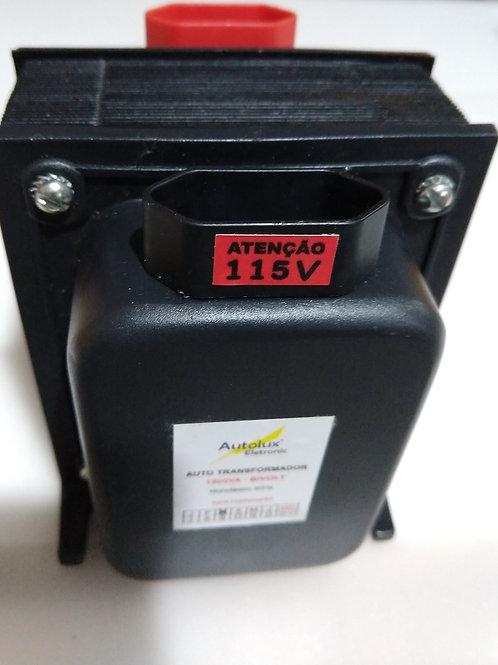 Auto Transformador Entrada Bivolt  saida 127V por 1500VA  2X075