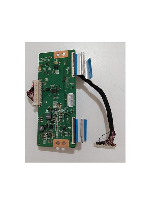 Placa Tecon  T con com cabos Flet TV SEMP TOCHIBADL3277A Cod6870C0414A  Usado