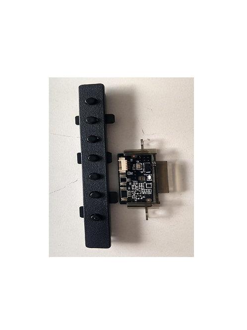 Sensor e teclado TV 32 HBuster HBTV32LO7HD   Usada