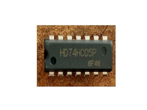 Circuito integrado HD74HC05 original