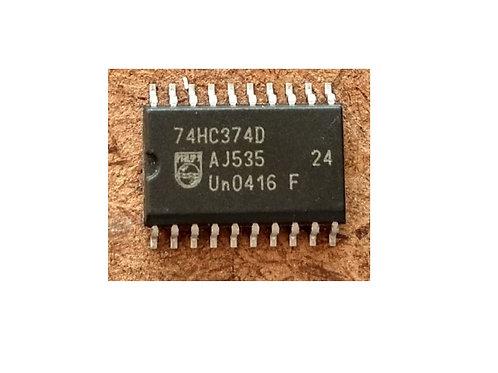 Circuito integrado 74HC374D SMD 20 pinos original