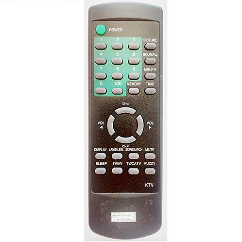 Controle remoto TV Daytek DCT1460M  TV Kirey KTV 1414  KTV 1430  KTV 2020