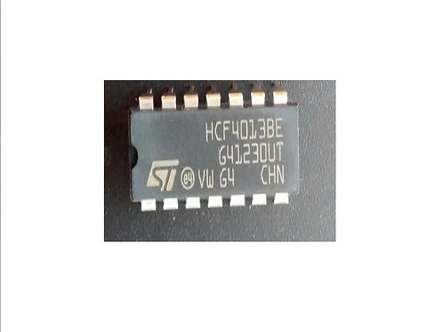 Circuito integrado HCF4013 14 pinos original