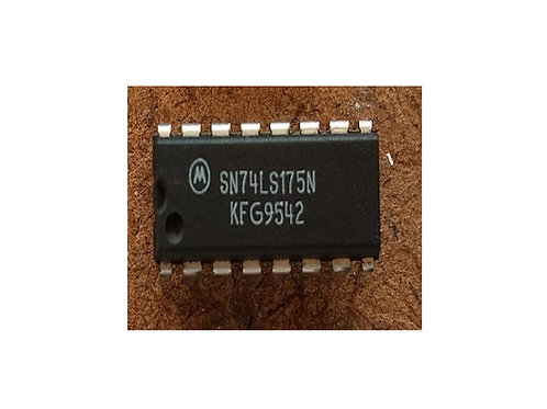 Circuito integrado SN74LS175 16 pinos original