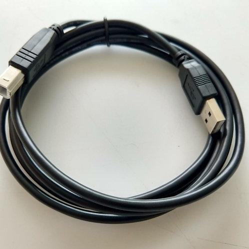 Cabo adaptador USB AM  X Tipo C  Preto  1 mt