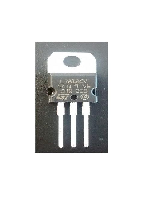 Circuito integrado regulador L7818 original