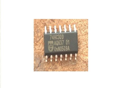 Circuito integrado 74HC30D SMD original