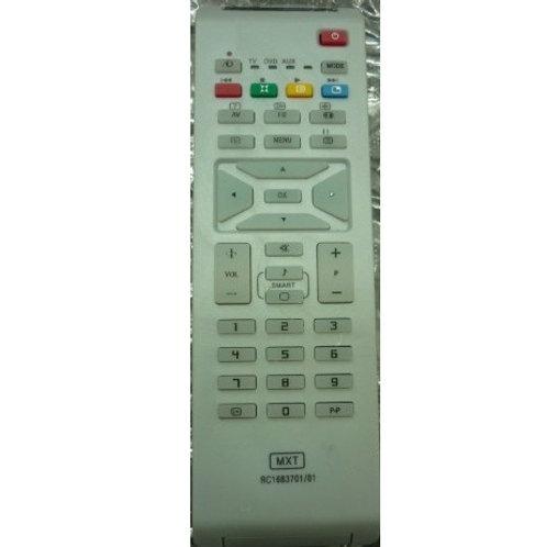 Controle remoto TV PHILIPS LCD RC168370101