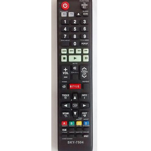 Controle remoto DVD Samsung  Home theater com Netflex SKY7504  AH5902406A