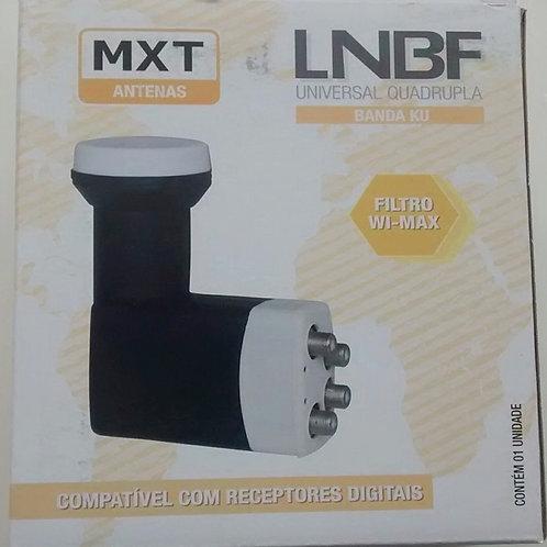 LNBF quadruplo banda KU universal MS745H  950 a 2150 MHz