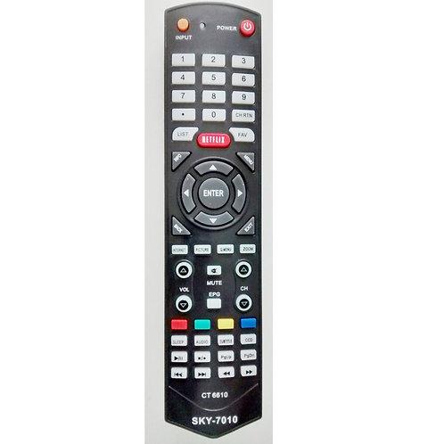 Controle remoto TV Semp Toshiba  Sti com Netflix e internet CT6610  SKY7010