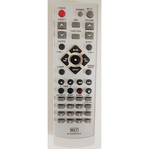 Controle Remoto som LG  6710CMAT01C