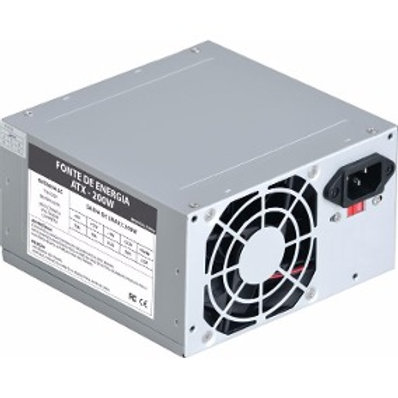 Fonte de energia ATX 204P 200W VF200W  bivolt sem cabo de energia Marca