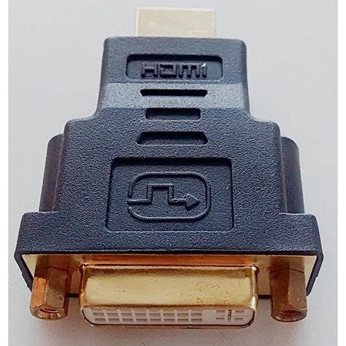 Adaptador DVI femea X HDMI macho