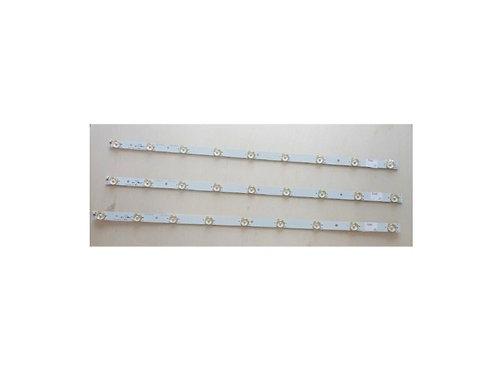 Conjunto de 3 Barras de led TV CCE LN32G  9 leds cada barra  espaco 7cm