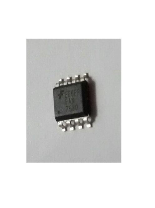 Circuito integrado EE6FP FAN 7530 SMD