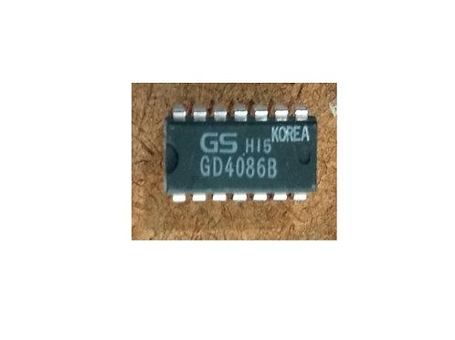 Circuito integrado GD4086B  14 pinos original