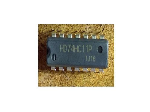 Circuito integrado HD74HC11P 14 pinos original