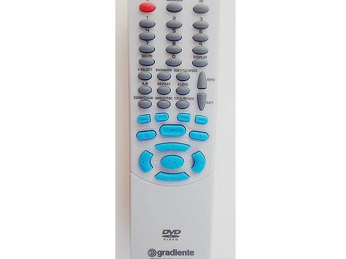 Controle remoto DVD Gradiente HTS420  Philco CR860