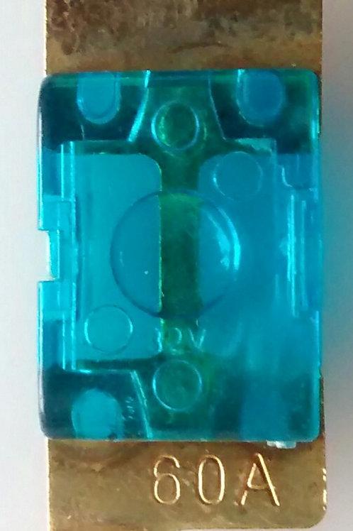 Fusivel anel faca mini 60A azul