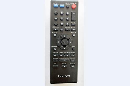 Controle remoto Dvd Eterny  FBG7001   Et27007ab