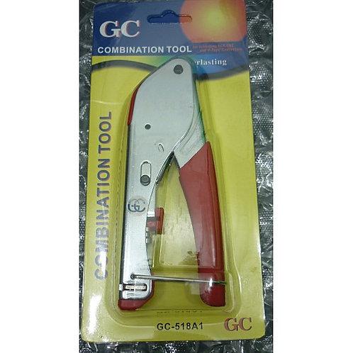 Alicate de Compressao HT 518 A1 p Conector RG59 RGO6